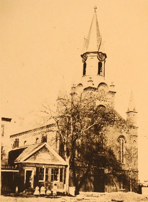 Original Church building late 1800s